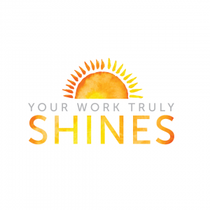 Gratitude Card Design: Your work truly shines